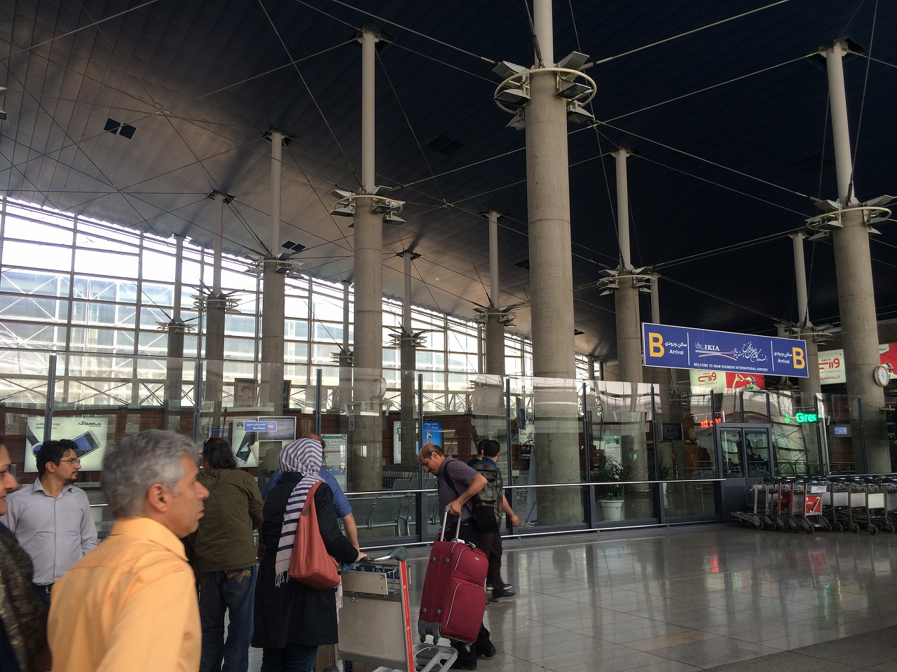 イランの空港(イマームホーメイニ空港) (1)